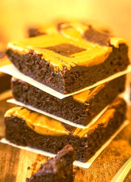Recipe: Peanut Butter-Swirled Fudgy Brownies