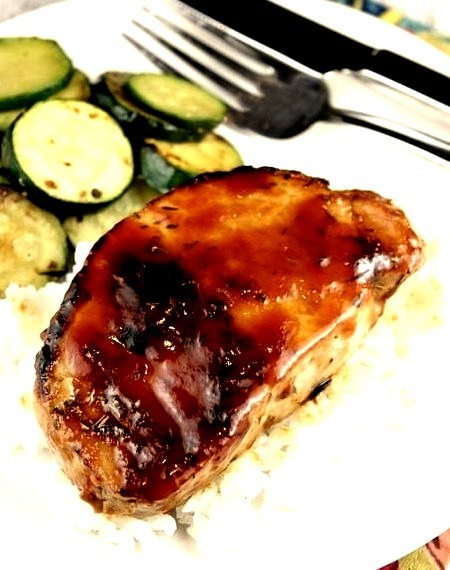 Weight Watchers Barbecued Pork Chops
