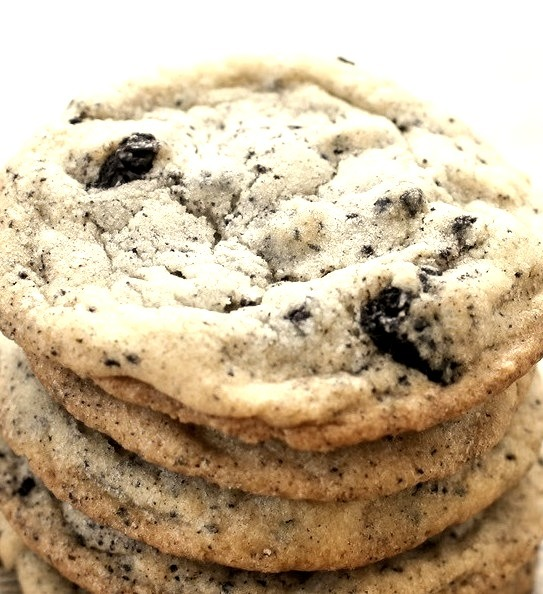 Big Chewy Cookies and Cream Cookies