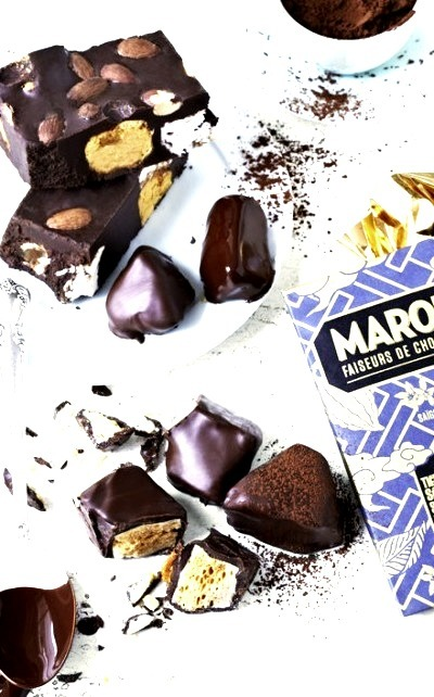 Honeycomb Chocolate Fudge with Marshmallows Have A Yummy Day